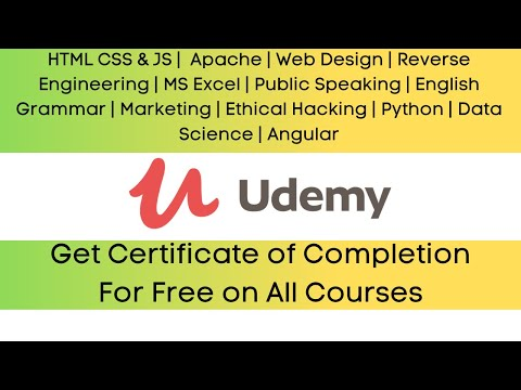 Get Certificate of Completion For Free on All Courses   Udemy Paid ...