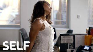 Easy 10-Minute Workout You Can Do at Your Desk by SELF Magazine