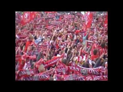 FC Twente huldiging kampioen you never walk alone en meer PPM Band bij fc twente...