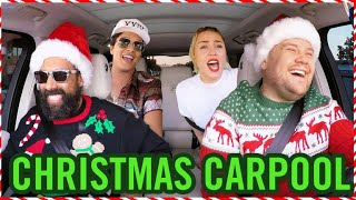 Carpool Karaoke - Santa Claus Is Coming To Town