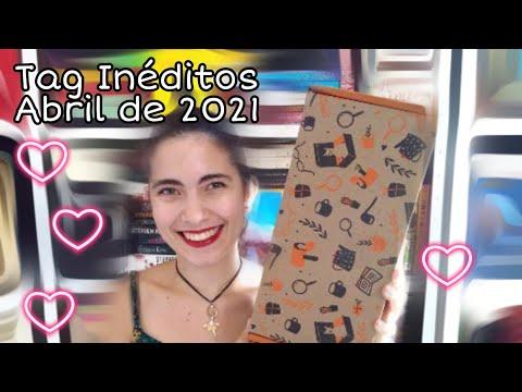 Unboxing TAG Inéditos Caixinha Abril de 2021| Livros Meus Mimos ?