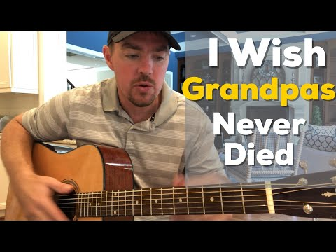 I Wish Grandpas Never Died | Riley Green | Beginner Guitar Lesson