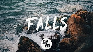 Odesza - Falls (Lyrics / Lyric Video) feat. Sasha Sloan
