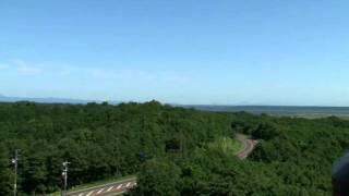 北海道観光映像(釧路市湿原展望台)