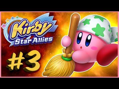 ЧИСТИЛЬЩИК КИРБИ 💖 Kirby Star Allies #3 [Прохождение]