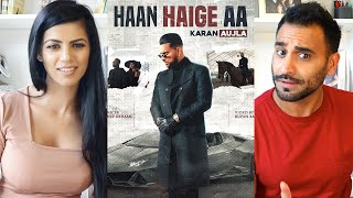 HAAN HAIGE AA | KARAN AUJLA ft. Gurlez Akhtar I Rupan Bal I Avvy Sra I Latest Song 2020 REACTION!!!