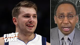 Stephen A. loves everything about Luka Doncic's game | First Take