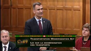 June 5, 2017 Debate in the House regarding the Transportation Modernization Act C49