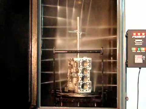 Cabinas de lavado de motores Ruani