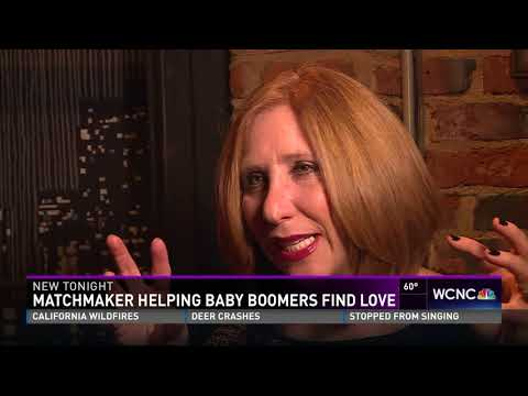 WCNC - Matchmaker Helping Baby Boomers Find Love