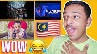 REACTING TO MALAYSIA MUSIC FOR THE FIRST TIME 🇲🇾
