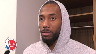 Kawhi Leonard says the Clippers can be a great defensive team   NBA Sound