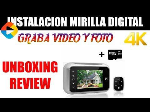INSTALACION MIRILLA DIGITAL | EN ESPAÑOL - DonGregorioYJack