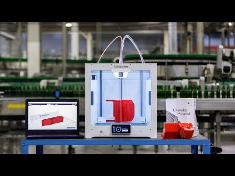 Heineken: Ensuring production continuity with 3D printing
