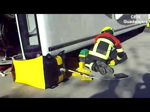 Cojines de baja presion Elevacion de autobus