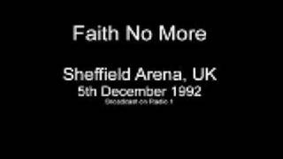 Faith No More Live In Sheffield 5th December 1992 - Chinese Arithmetic, RV