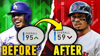 FLIPPED PLAYER RATINGS IN FRANCHISE! | MLB the Show 20