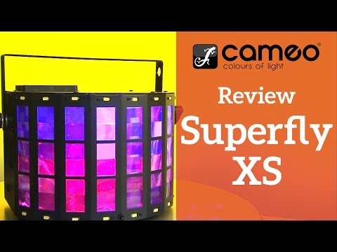 Cameo Superfly XS LED Effekt im Test | stage.review