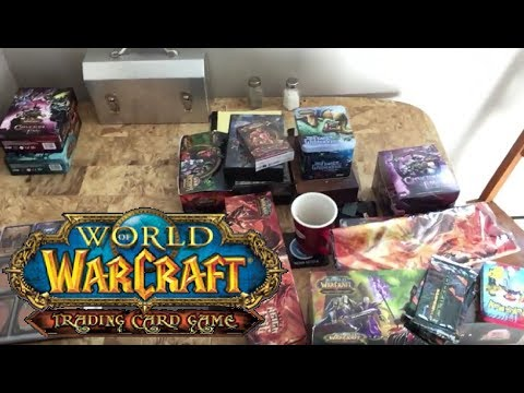 My World of Warcraft Trading Card Game Collection