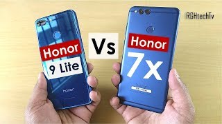 Honor 7x vs Honor 9 lite | Gaming, Camera, Battery, Sound, Design & Build