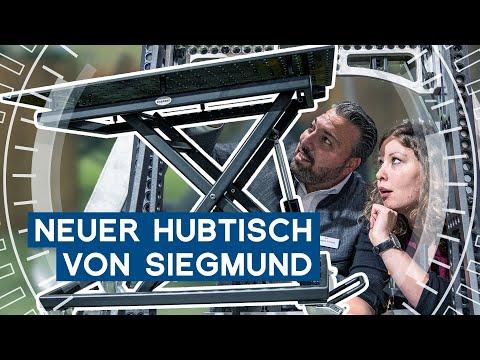 Siegmund bringt mobilen Hubtisch raus | EMO Hannover 2019 | METAL WORKS TV