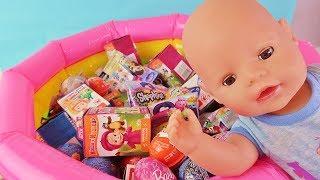 Куклы Пупсики. Открываем Игрушки и Сюрпризы с Беби Бон Ромой. Детский Канал Зырики ТВ Кукла Ляля