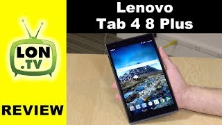 Lenovo Tab 4 8 Plus Android Tablet with 4G LTE Review - Under $230 - dooclip.me