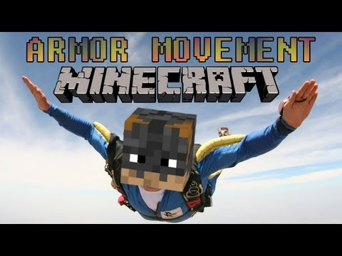 Minecraft MOD - ARMOR MOVEMENT