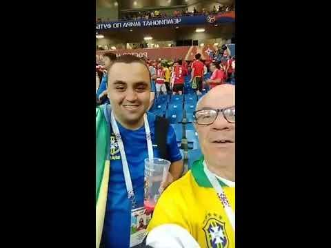 Mãe da Fome o enviado do Jornal Agora é Sério na Copa da Russia 2018 no Jogo do Brasil x Suíça