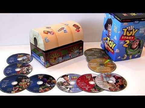 Toy Story Ultimate Toy Box Blu-ray Trilogy Collection Disney Pixar Set Boxset