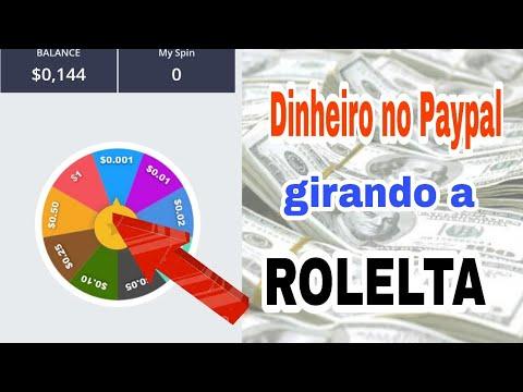Gire a roleta para ganhar dinheiro no Paypal