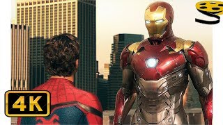 """""""Я хотел быть как вы! А надо быть лучше."""" Тони Старк отбирает Костюм у Питера Паркера."""