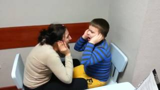 Даник, запуск речи у неговорящих детей, первые звуки)