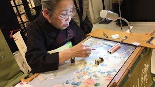 Adeyto Kimono Embroidery LIVE NOW Shinjuku TAKASHIMAYA 11th Floor
