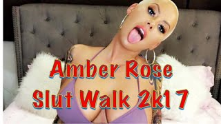Amber Rose's Slut Walk #SpillTheTea w/ Teacup