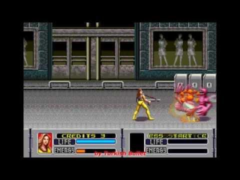 Alien Storm (Sega Mega Drive / Genesis) - (Longplay - Karen | Hard Difficulty)