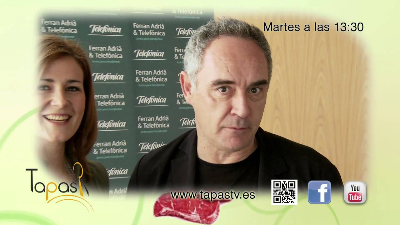 Promo Tapas: Ferran Adriá