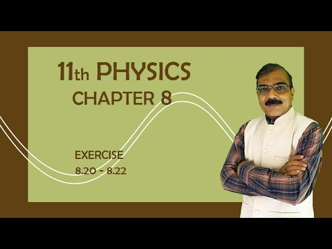 11TH PHYSICS || CHAPTER 8 || SUMS OF EXERCISE || GUJARATI MEDIUM