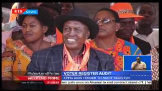 Raila Odinga says recent development projects by Jubilee government haven't been budgeted for