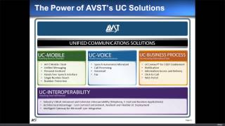 AVST Webinar - Voicemail Replacements for Next Generation Unified Communications (UC)