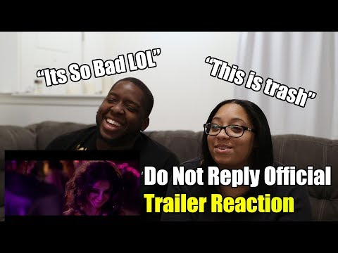 Do Not Reply Official Trailer Reaction (2020)