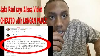 Jake Paul Says Alissa Violet CHEATED with LOGAN PAUL! Team 10 vs Martinez Twins!? #Reaction Video