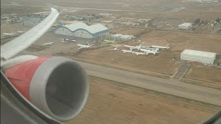 preview picture of video 'Royal Jordanian BOEING 787 TAKEOFF from AMMAN.. this engine is unbelievably quiet on takeoff'