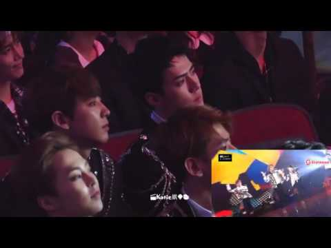 EXO,NCT 127,AKB48 react to NCT DREAM @ Vchart Awards