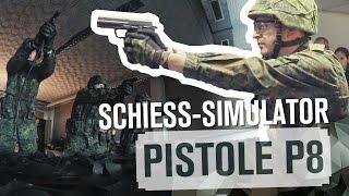 SCHIESS-SIMULATOR: Pistole P8 | TAG 45 | Kholo.pk