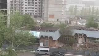 Астана сильный ветер