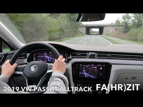 2019 VW Passat Alltrack Fahrbericht Fahreindruck Test Review Meinung Kritik Benziner oder Diesel