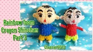 Rainbow Loom C.S. Tutorial Part 3 彩虹橡筋編織小新教學