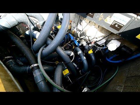 Modern Koi Blog #3244 - Ein Filter mit 11 Pumpen für 70.000 Liter