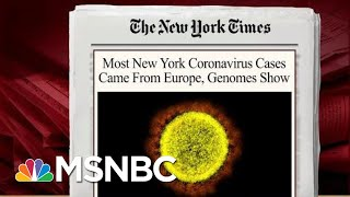 Virus Spread Sooner Than Thought, Mostly Came From Europe: Report   Morning Joe   MSNBC